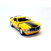 Model car Ford Mustang Boss 302 1970 yellow 1:24