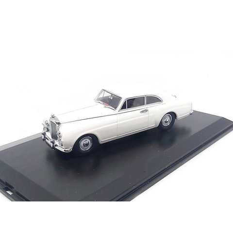 Bentley S1 Continental Fastback 1956 Olympic white - Model car 1:43