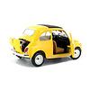 Model car Fiat 500L 1968 yellow 1:24   Bburago