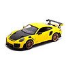 Model car Porsche 911 (991 II) GT2 RS 2018 yellow/black 1:24
