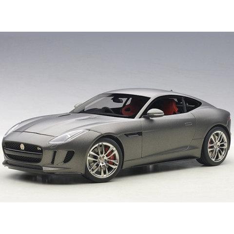 Jaguar F-type R Coupe 2015 matt grey - Model car 1:18