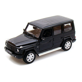 Welly Mercedes Benz G-Klasse 2009 zwart - Modelauto 1:24