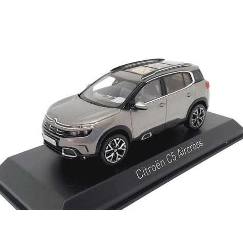 Citroën C5 Aircross 2018 platinagrijs 1:43 - Modelauto 1:43