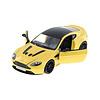 Model car Aston Martin V12 Vantage S yellow metallic 1:24