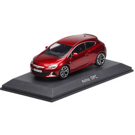 iScale | Model car Opel Astra J OPC red metallic 1:43