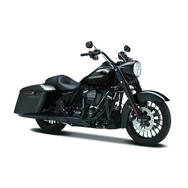 Modelmotor Harley-Davidson Road King Special 2017 zwart 1:12