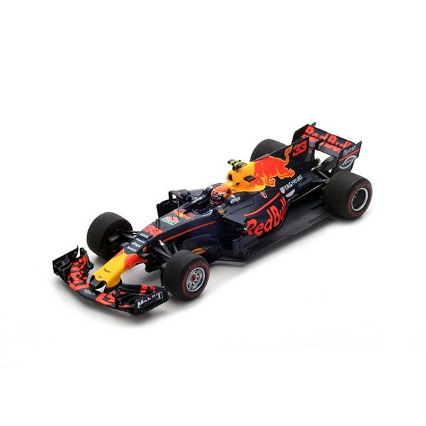 Model car Red Bull RB13 Tag Heuer No. 33 GP Malaysia 2017 1:43 | Spark