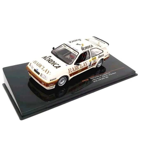 Modelauto Ford Sierra RS Cosworth 1:43 WTCC No. 4 1987 | Ixo Models