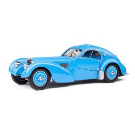 Solido Bugatti Type 57SC Atlantic lichtblauw - Modelauto 1:18