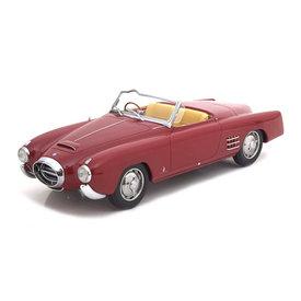 BoS Models | Modelauto Lancia Aurelia PF200 Cabrio rood 1:18