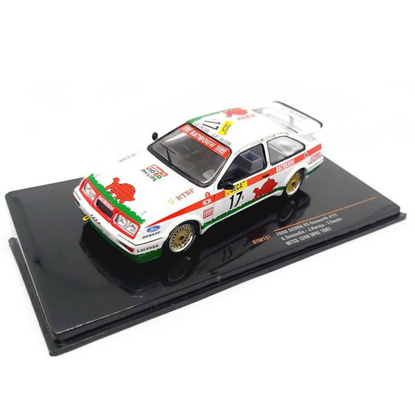 Modelauto Ford Sierra RS Cosworth No. 17 WTCC 1987 1:43