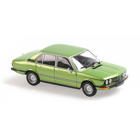 Maxichamps BMW 520 (E12) 1974 green metallic - Model car 1:43