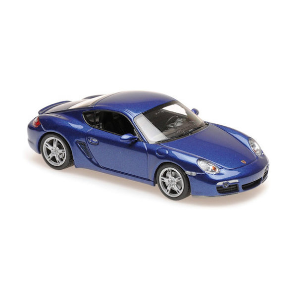 Model car Porsche Cayman S 2005 blue metallic 1:43 | Maxichamps