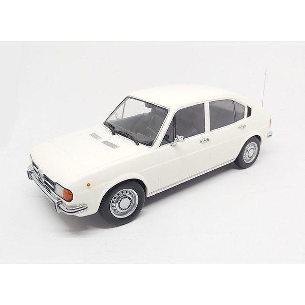 Model car Alfa Romeo Alfasud 1974 white 1:18
