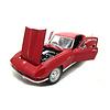 Modelauto Chevrolet Corvette 1965 rood 1:18