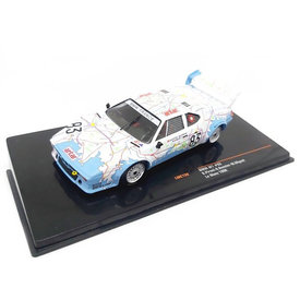 Ixo Models BMW M1 No. 83 24h Le Mans 1980 - Modelauto 1:43