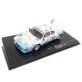 Ixo Models BMW M1 No. 83 24h Le Mans 1980 - Modellauto 1:43