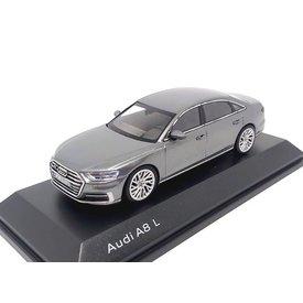 iScale Audi A8 L 2017 Monsun grijs - Modelauto 1:43
