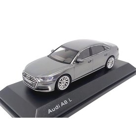iScale | Model car Audi A8 L 2017 Monsun grey 1:43