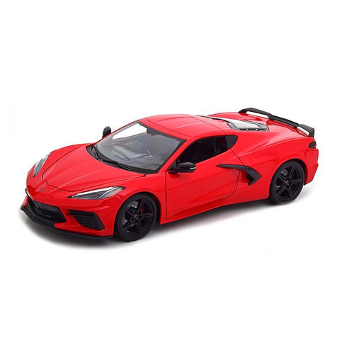 Chevrolet Corvette Stingray 2020 red - Model car 1:18