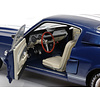 Model car Shelby Ford Mustang GT500 1967 blue/white 1:18
