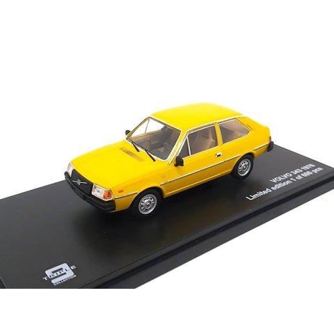 Volvo 343 1976 yellow - Model car 1:43