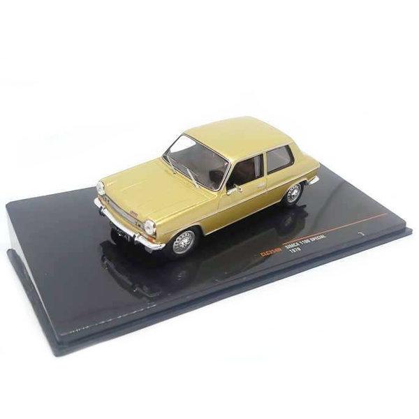 Modelauto Simca 1100 Special 1970 goud metallic 1:43 | Ixo Models