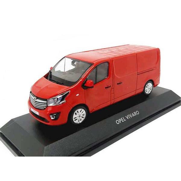 Modelauto Opel Vivaro 2015 rood 1:43