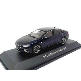 iScale Opel Insignia Grand Sport 2017 donkerblauw - Modelauto 1:43