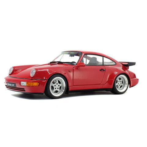 Porsche 911 (934) 3.6 Turbo 1990 rood - Modelauto 1:18