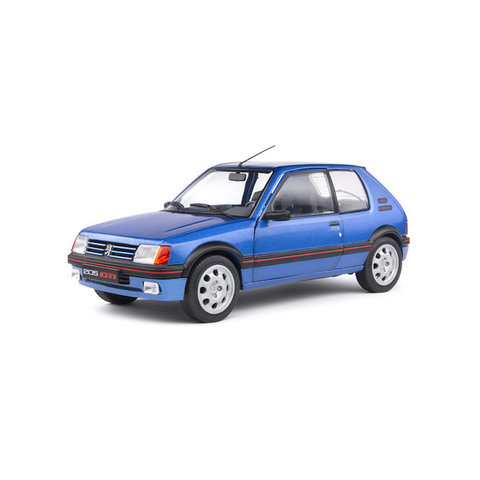 Peugeot 205 GTI 1.9 Mk 1 1988 blue metallic - Model car 1:18