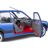 Model car Peugeot 205 GTI 1.9 Mk 1 1988 blue metallic 1:18   Solido