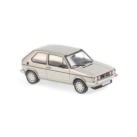 Maxichamps | Model car Volkswagen Golf GTI 1983 silver metallic 1:43