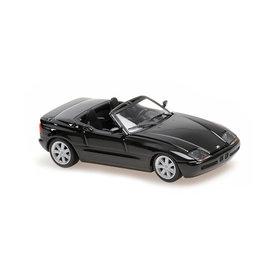 Maxichamps BMW Z1 (E30) 1991 zwart metallic - Modelauto 1:43