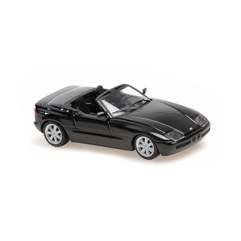 BMW Z1 (E30) 1991 zwart metallic - Modelauto 1:43