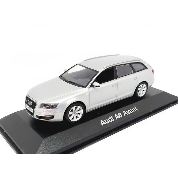 Modellauto Audi A6 Avant 2004 silber 1:43