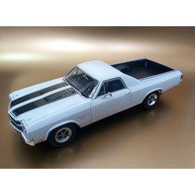 Welly Chevrolet El Camino 1970 white - Model car 1:18