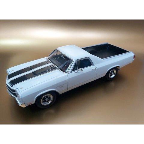Chevrolet El Camino 1970 white - Model car 1:18
