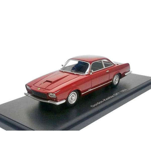 Modelauto Gordon-Keeble GK 1 1964 rood metallic 1:43 | BoS Models