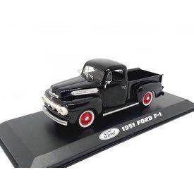 Greenlight Ford F-1 1951 zwart - Modelauto 1:43