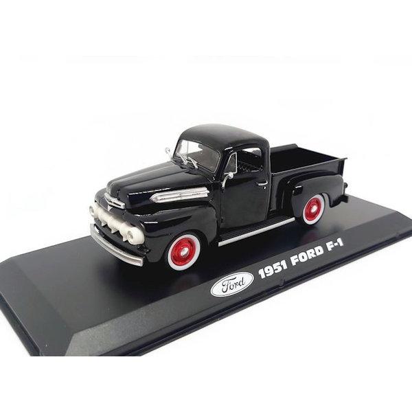 Model car Ford F-1 1951 black 1:43