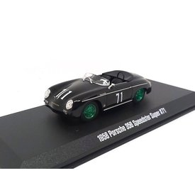 Greenlight Modelauto Porsche 356 1958 No. 71 zwart 1:43