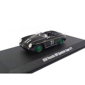 Greenlight Porsche 356 No. 71 1958 zwart - Modelauto 1:43
