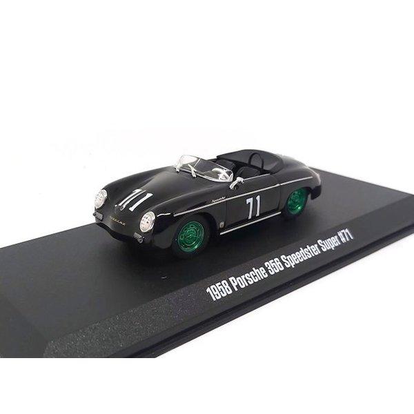 Model car Porsche 356 No. 71 1958 black 1:43 | Greenlight