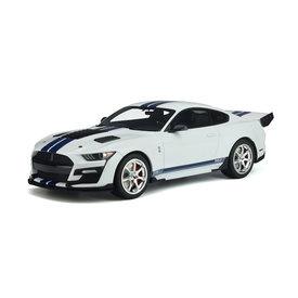 GT Spirit Shelby Ford Mustang GT500 Dragon Snake 2020 wit - Modelauto 1:18
