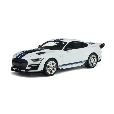 Shelby Ford Mustang GT500 Dragon Snake 2020 wit - Modelauto 1:18