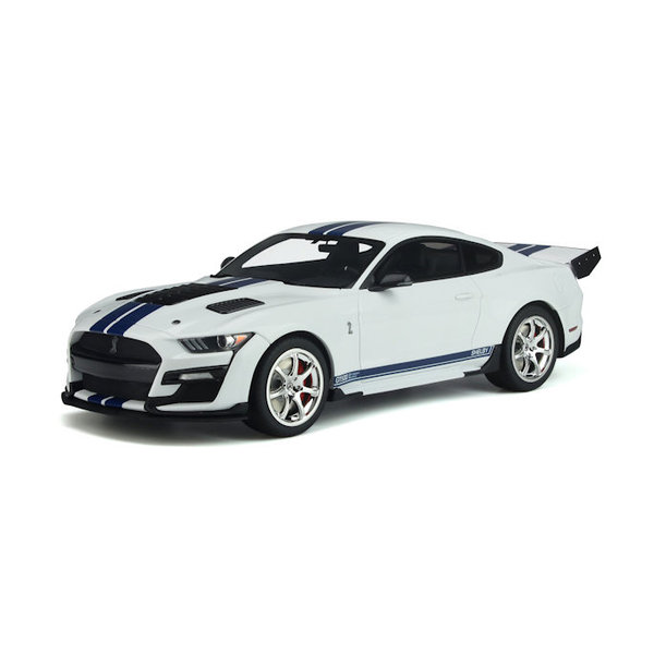 Modelauto Shelby Ford Mustang GT500 Dragon Snake 2020 wit 1:18