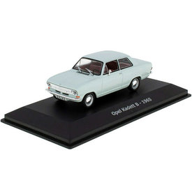 Hachette Opel Kadett B 1965 lichtblauw - Modelauto 1:43