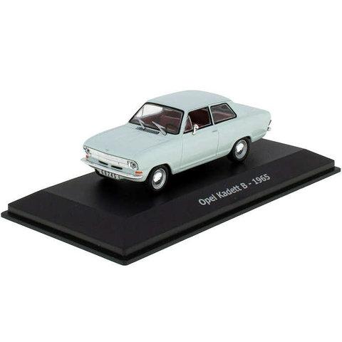 Opel Kadett B 1965 light blue - Model car 1:43