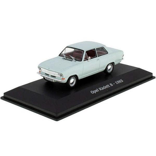 Modellauto Opel Kadett B 1965 hellblau 1:43